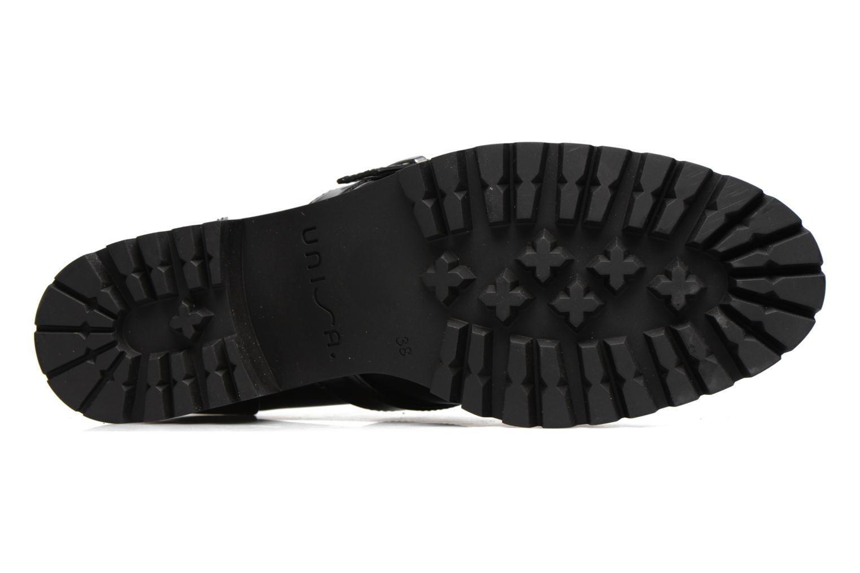 Zapatos con cordones Unisa Inmole Negro vista de arriba