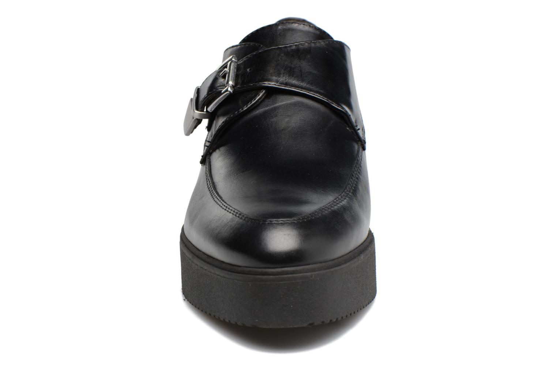 Mocassins Unisa Cabana Noir vue portées chaussures