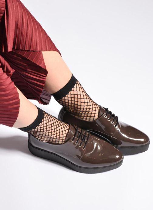 Zapatos con cordones Unisa Caler Marrón vista de abajo