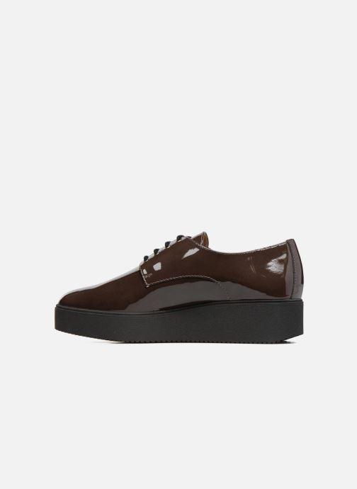 Chaussures à lacets Unisa Caler Marron vue face