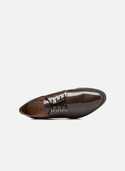 Zapatos con cordones Unisa Caler Marrón vista lateral izquierda
