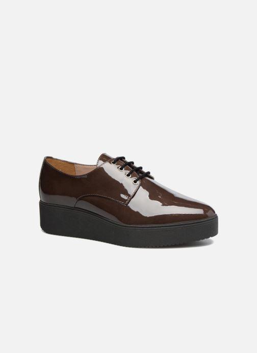 Zapatos con cordones Unisa Caler Marrón vista de detalle / par
