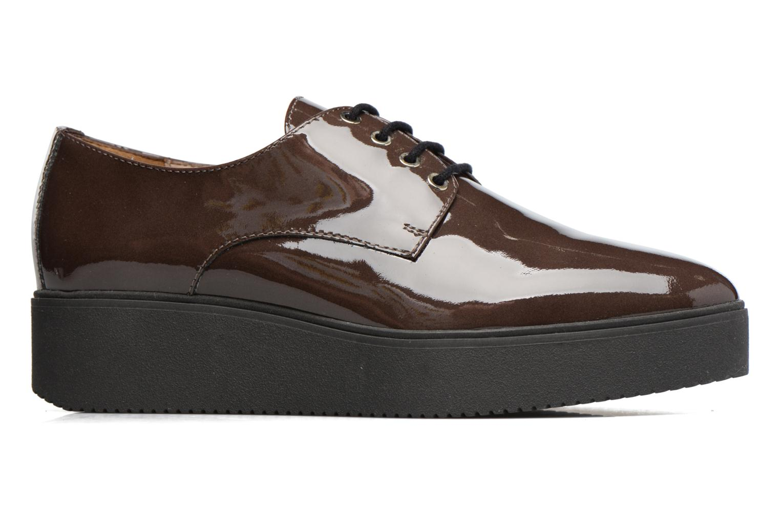 Lace-up shoes Unisa Caler Brown back view