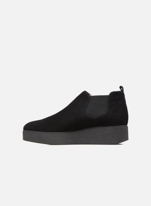 Boots en enkellaarsjes Unisa Cadeo Zwart voorkant