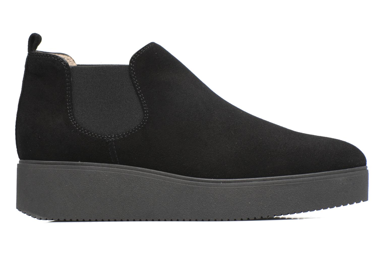 Ankle boots Unisa Cadeo Black back view