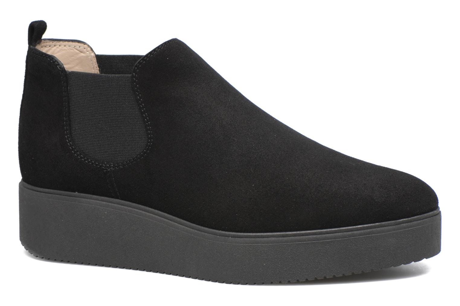 Ankle boots Unisa Cadeo Black detailed view/ Pair view