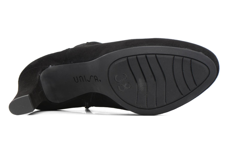 Boots en enkellaarsjes Unisa Nelas Zwart boven