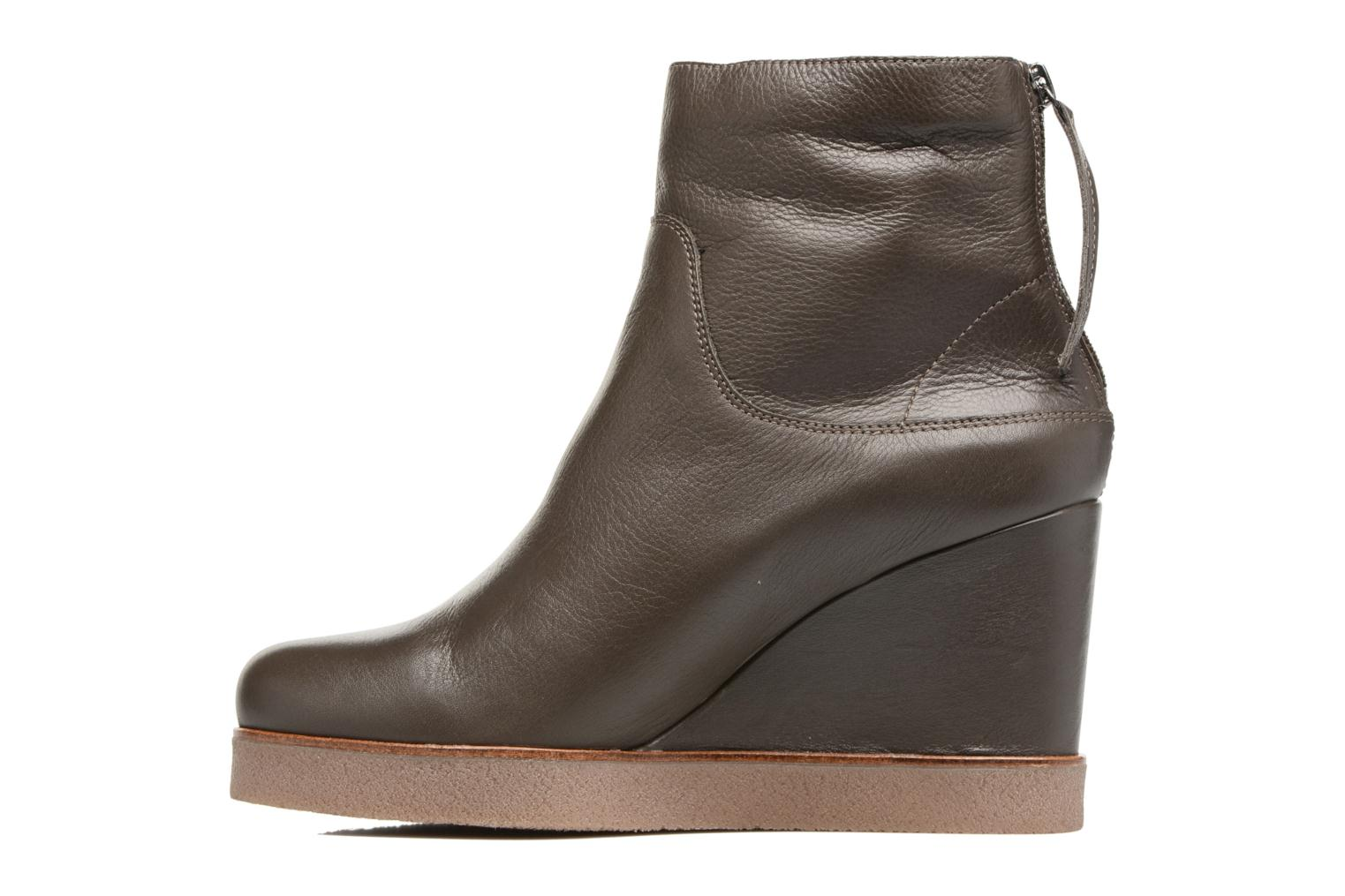 Ankle boots Unisa Galeni Brown front view