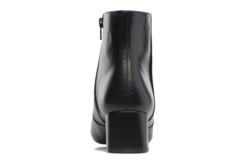 Boots en enkellaarsjes Unisa Karisi Zwart rechts