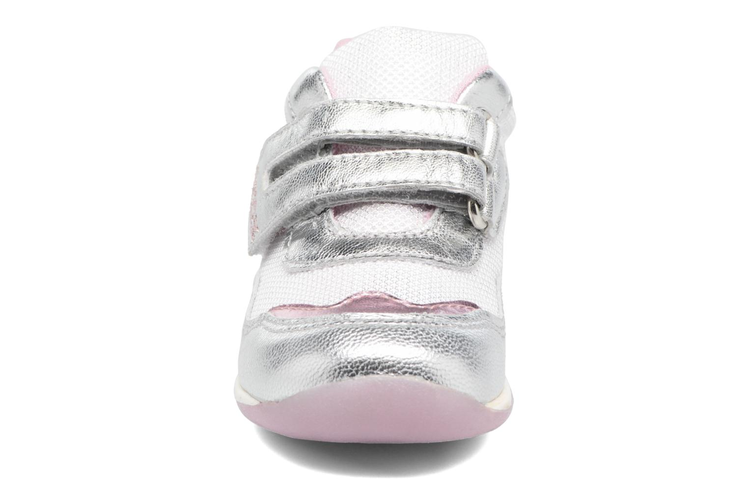 Sneakers Geox B EACH GIRL E Zilver model