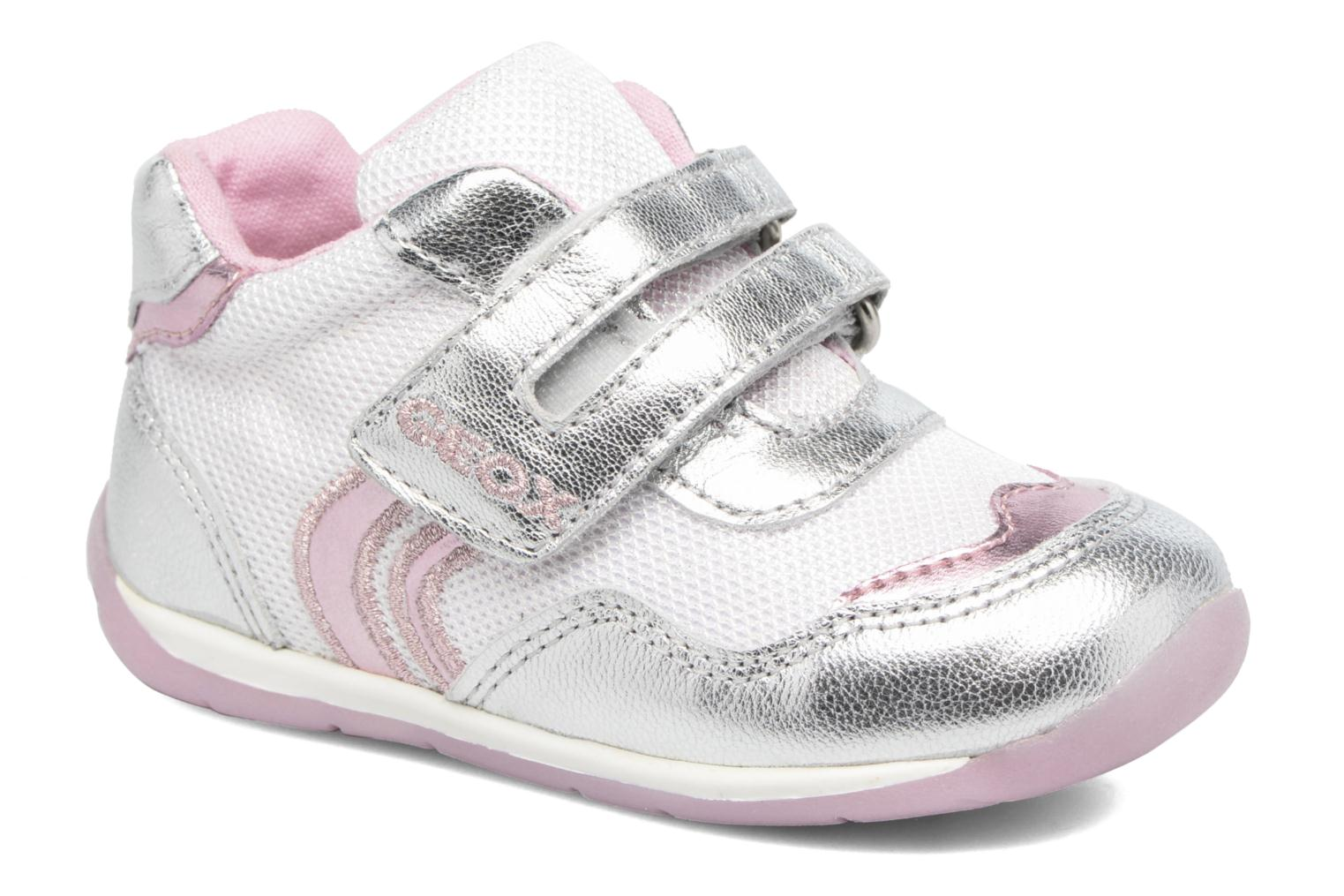Sneakers Geox B EACH GIRL E Zilver detail