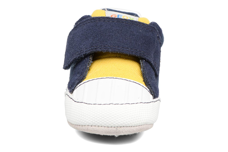 Sneakers Geox B IAN B II Azzurro modello indossato