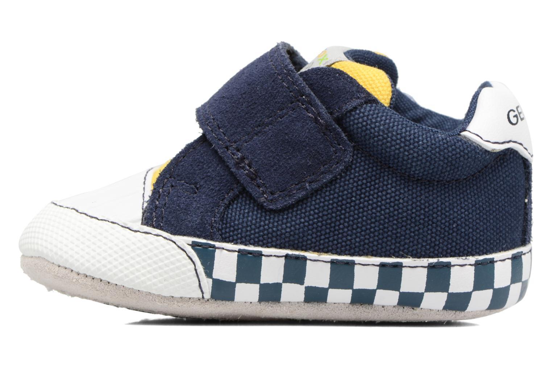 Sneakers Geox B IAN B II Azzurro immagine frontale
