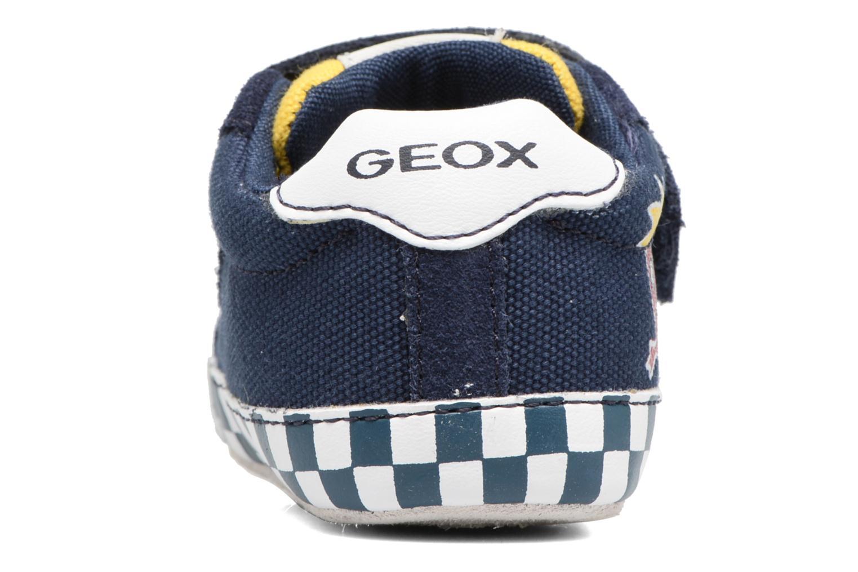 Baskets Geox B IAN B II Bleu vue droite
