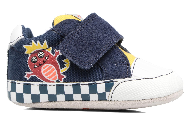 Sneakers Geox B IAN B II Azzurro immagine posteriore
