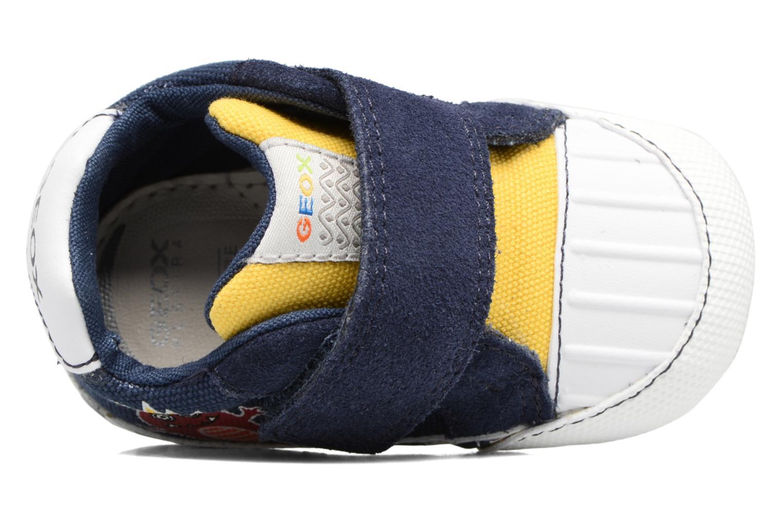 Sneakers Geox B IAN B II Azzurro immagine sinistra