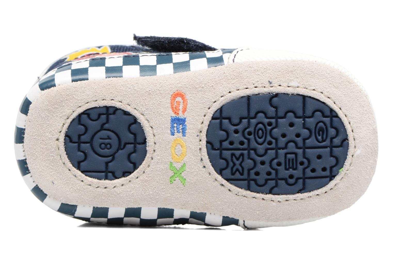 Sneakers Geox B IAN B II Azzurro immagine dall'alto