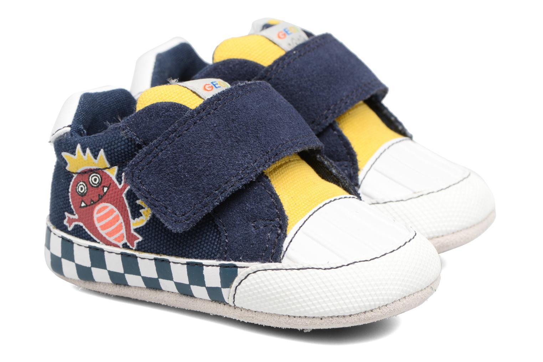 Sneakers Geox B IAN B II Azzurro vedi dettaglio/paio