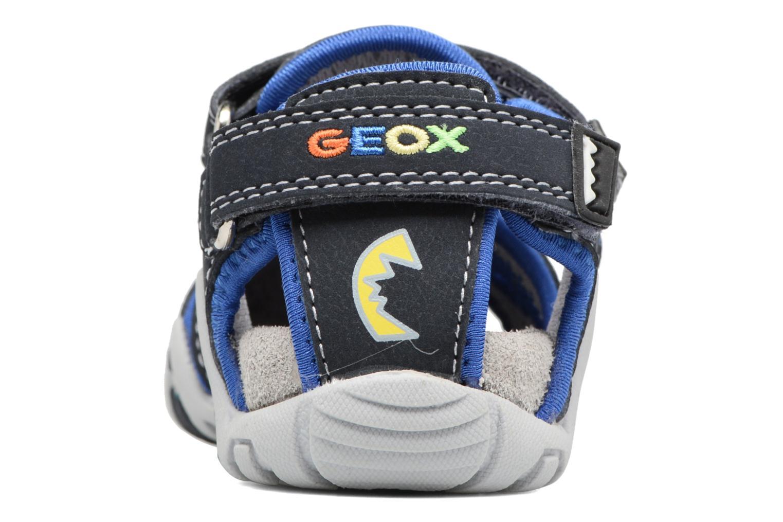 Sandales et nu-pieds Geox B SANDAL KRAZE A Bleu vue droite