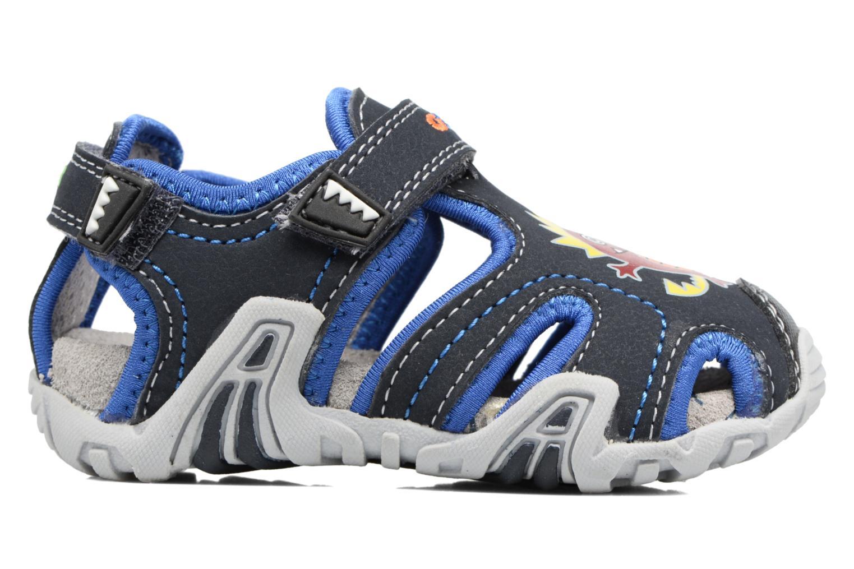 Sandales et nu-pieds Geox B SANDAL KRAZE A Bleu vue derrière