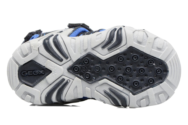 Sandales et nu-pieds Geox B SANDAL KRAZE A Bleu vue haut