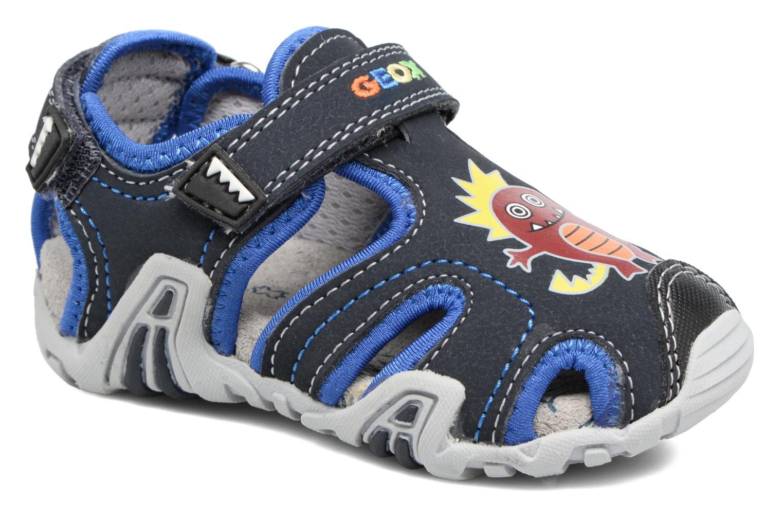 Sandales et nu-pieds Geox B SANDAL KRAZE A Bleu vue détail/paire