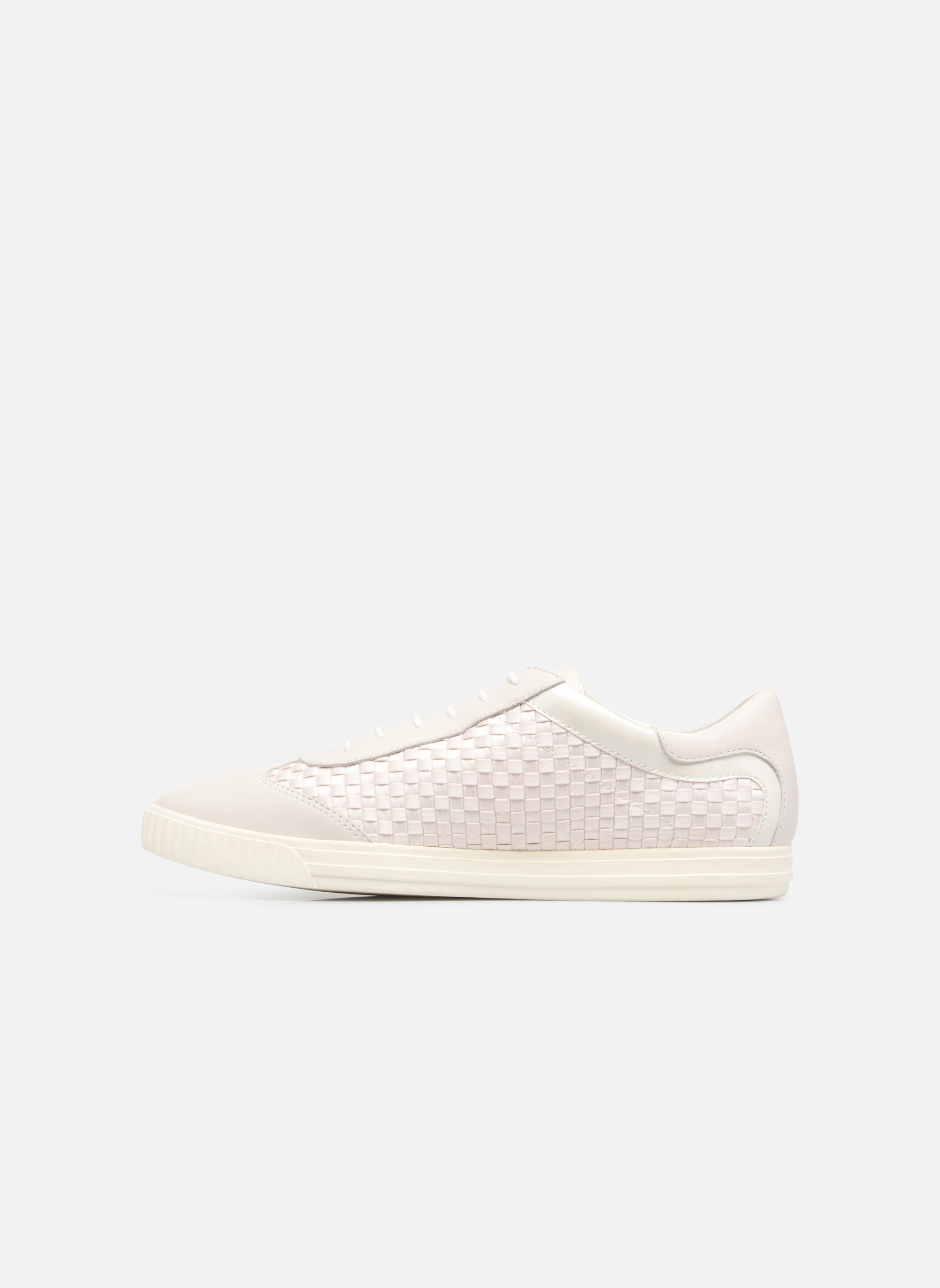 Sneakers Geox D AMALTHIA B Bianco immagine frontale