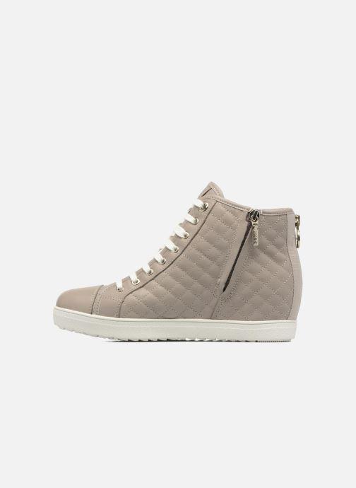 Sneakers Geox D AMARANTH HIGH B AB II Beige immagine frontale