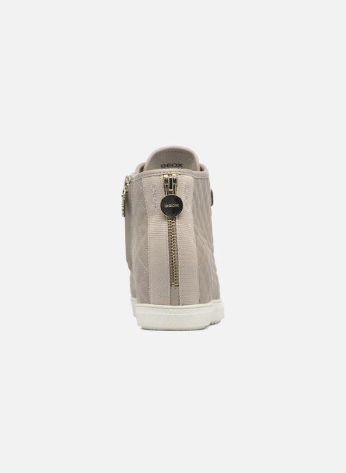 Sneakers Geox D AMARANTH HIGH B AB II Beige rechts