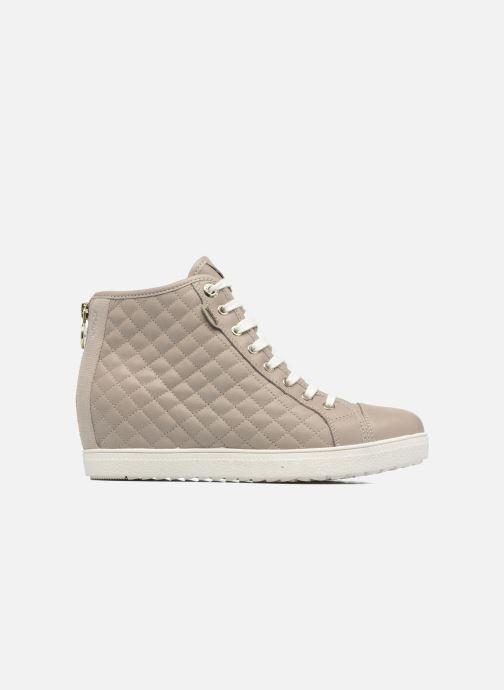 Sneakers Geox D AMARANTH HIGH B AB II Beige achterkant