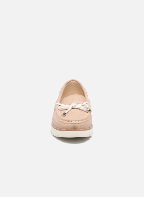 Chaussures à lacets Geox D BLENDA D Rose vue portées chaussures