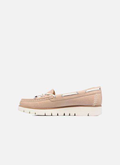 Chaussures à lacets Geox D BLENDA D Rose vue face