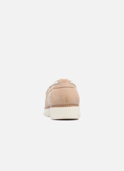 Chaussures à lacets Geox D BLENDA D Rose vue droite