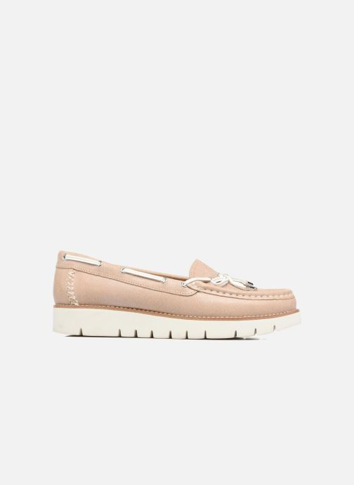 Chaussures à lacets Geox D BLENDA D Rose vue derrière