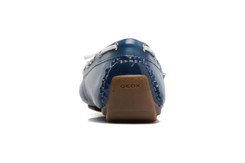 Scarpe con lacci Geox D CLELIA A Azzurro immagine destra