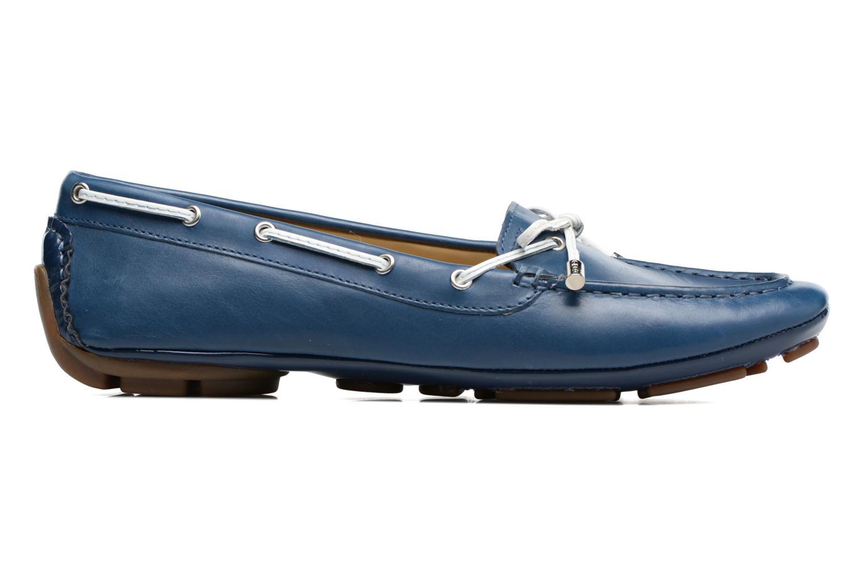 Scarpe con lacci Geox D CLELIA A Azzurro immagine posteriore