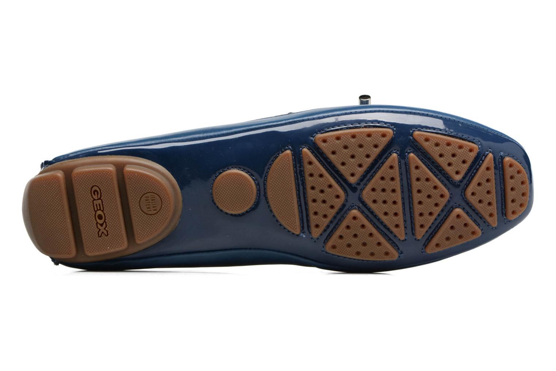 Scarpe con lacci Geox D CLELIA A Azzurro immagine dall'alto