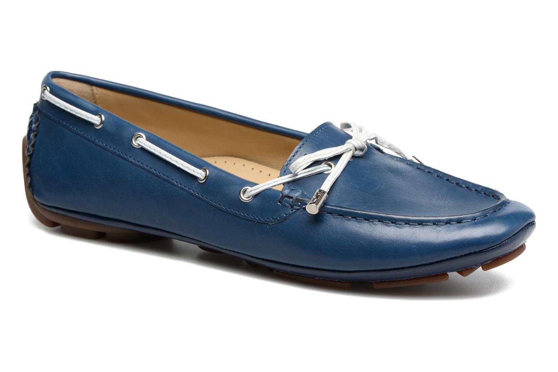 Scarpe con lacci Geox D CLELIA A Azzurro vedi dettaglio/paio