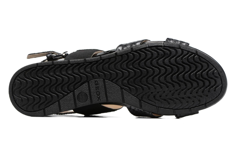 Sandali e scarpe aperte Geox D FORMOSA B II Nero immagine dall'alto