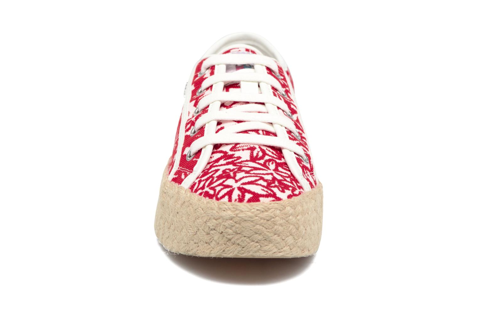 Espadrilles Geox D HIDENCE V A Red model view