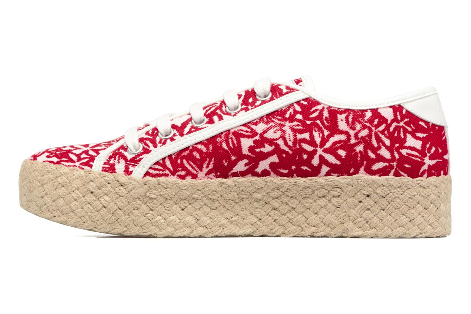 Espadrilles Geox D HIDENCE V A Red front view