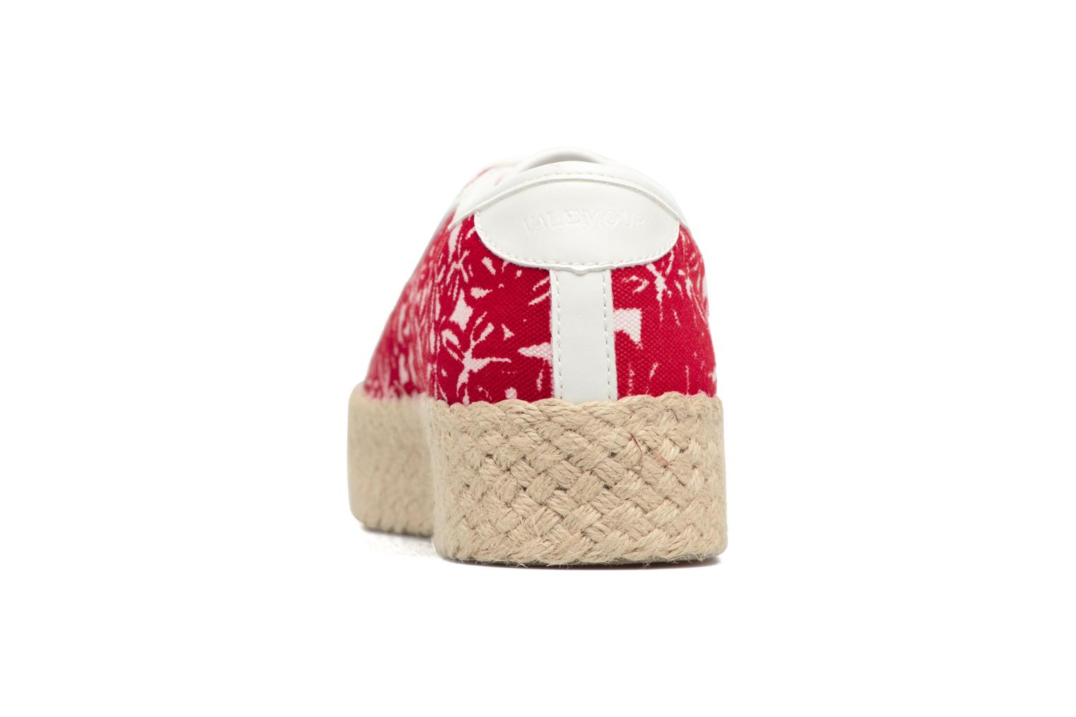 Espadrilles Geox D HIDENCE V A Red view from the right