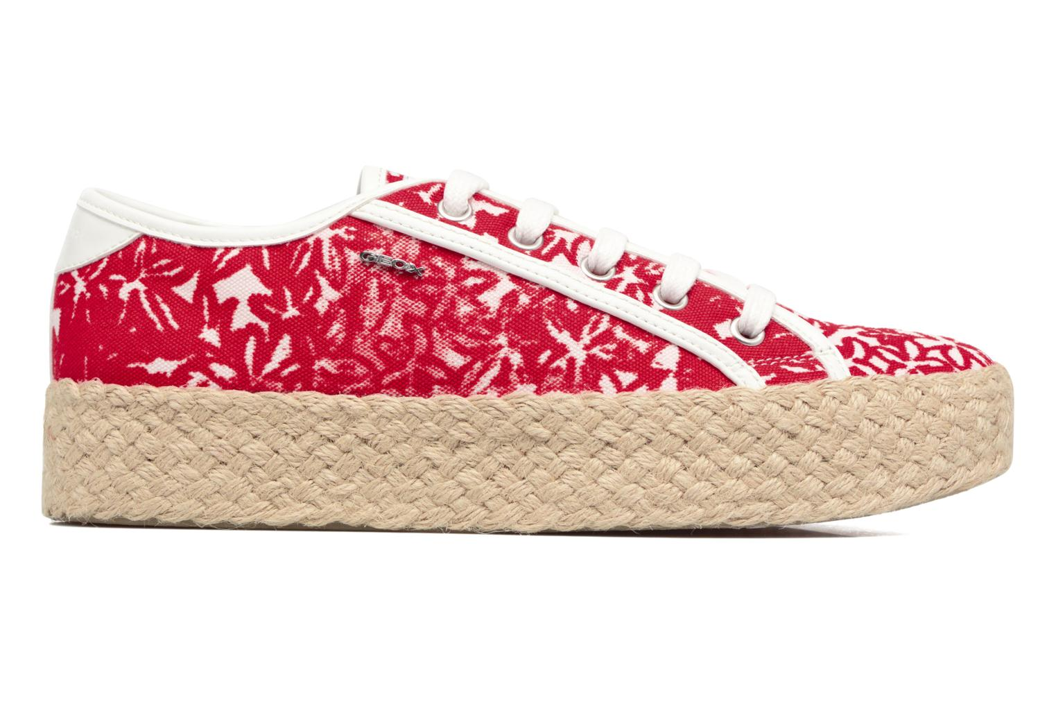 Espadrilles Geox D HIDENCE V A Red back view