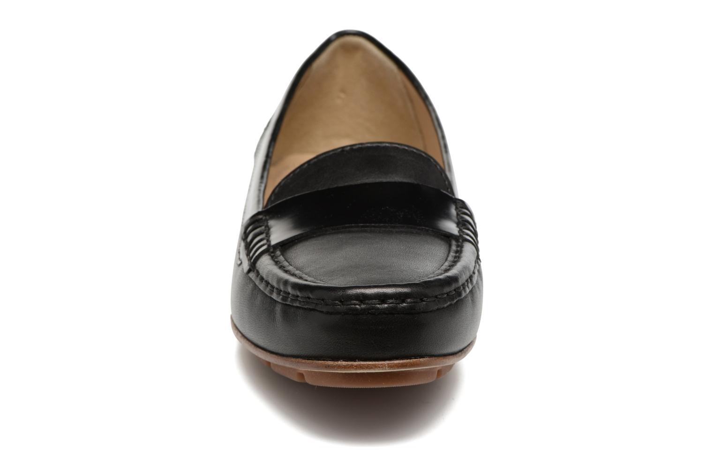 Mocassins Geox D ITALY A II Noir vue portées chaussures
