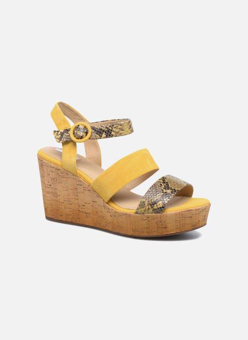 Sandali e scarpe aperte Geox D JALEAH B Giallo vedi dettaglio/paio