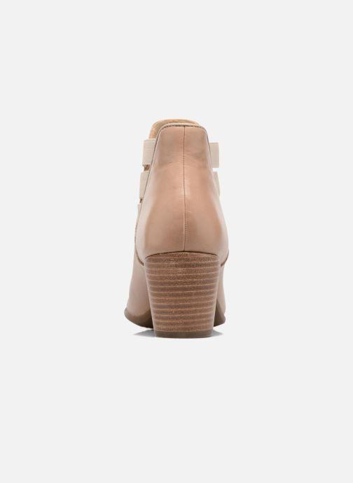 Boots en enkellaarsjes Geox D LUCINDA B Beige rechts