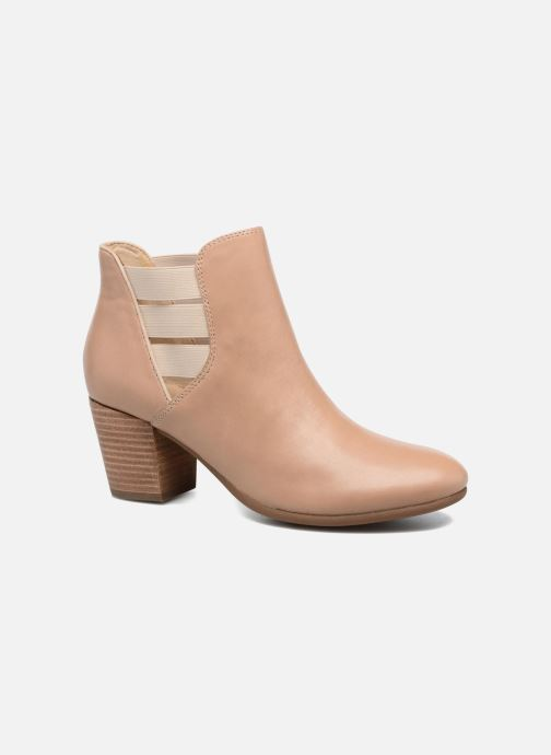 Bottines et boots Geox D LUCINDA B Beige vue détail/paire