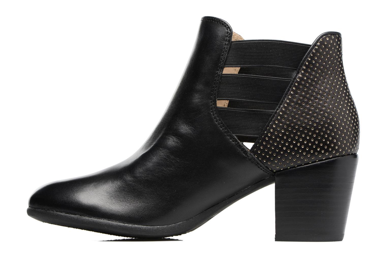Bottines et boots Geox D LUCINDA B Noir vue face
