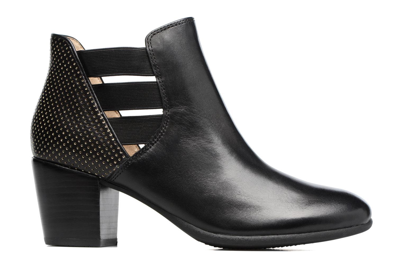 Bottines et boots Geox D LUCINDA B Noir vue derrière