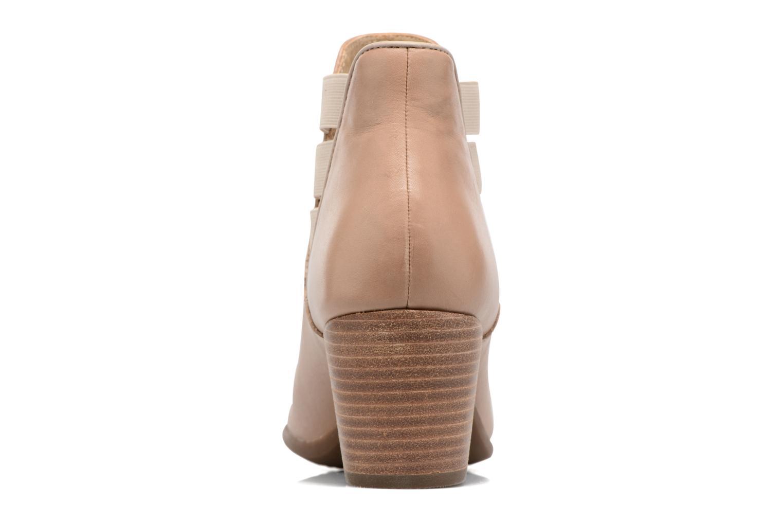 Bottines et boots Geox D LUCINDA B Beige vue droite